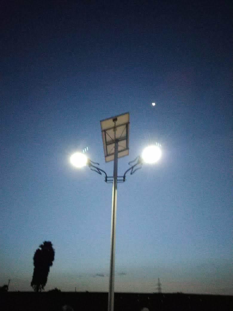 Solar Powered LED Street Light