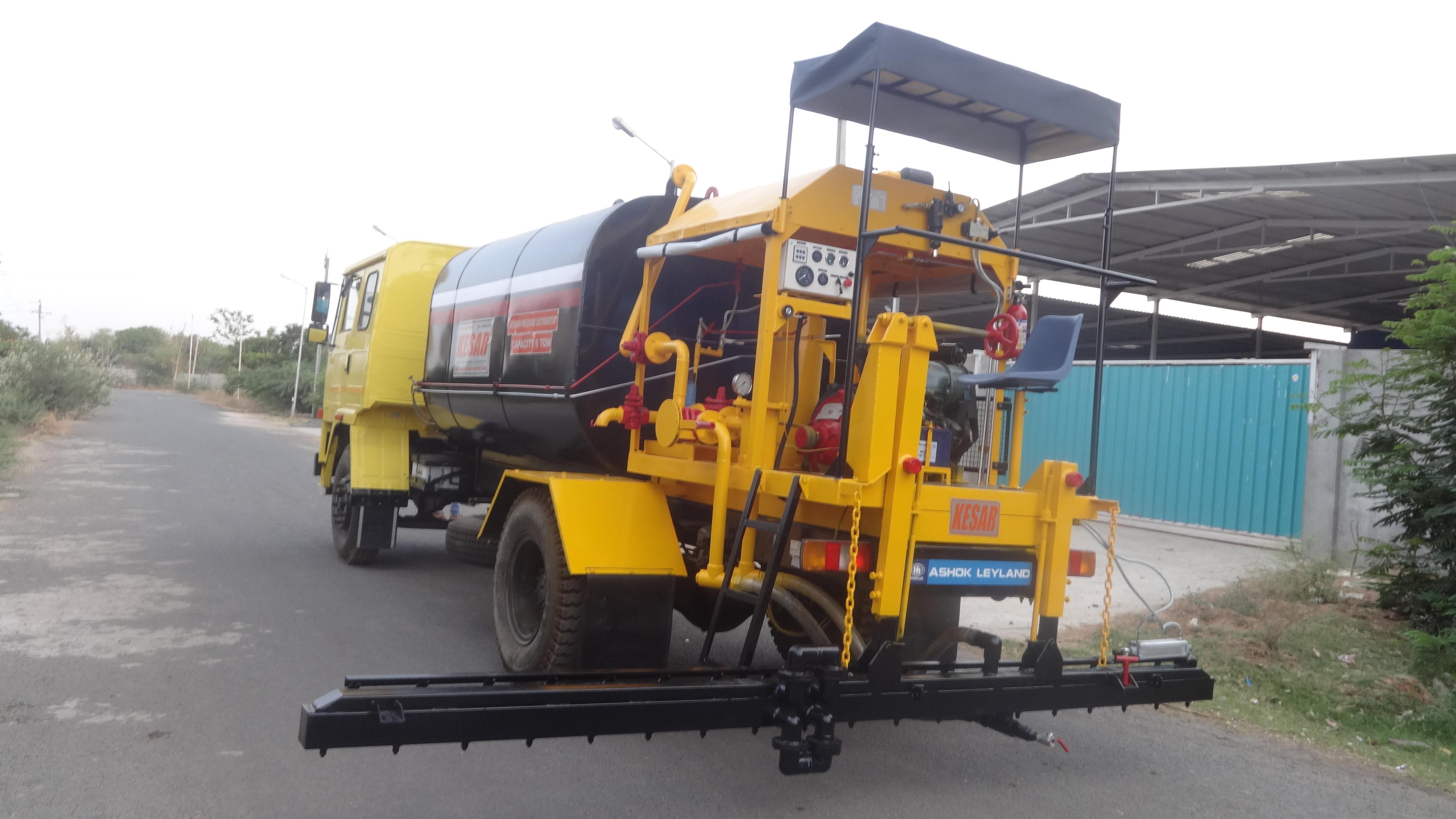 Heavy Duty Bitumen Pressure Distributor