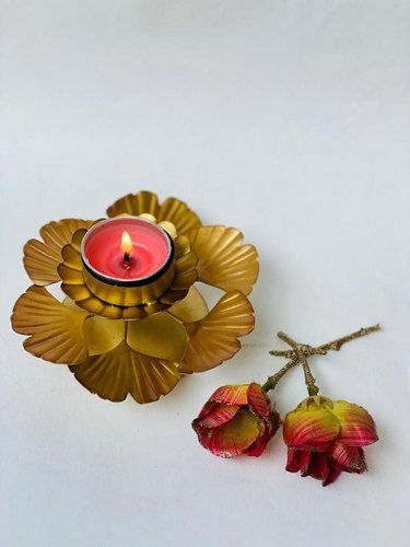Gingko Tea-Light Candle Holder