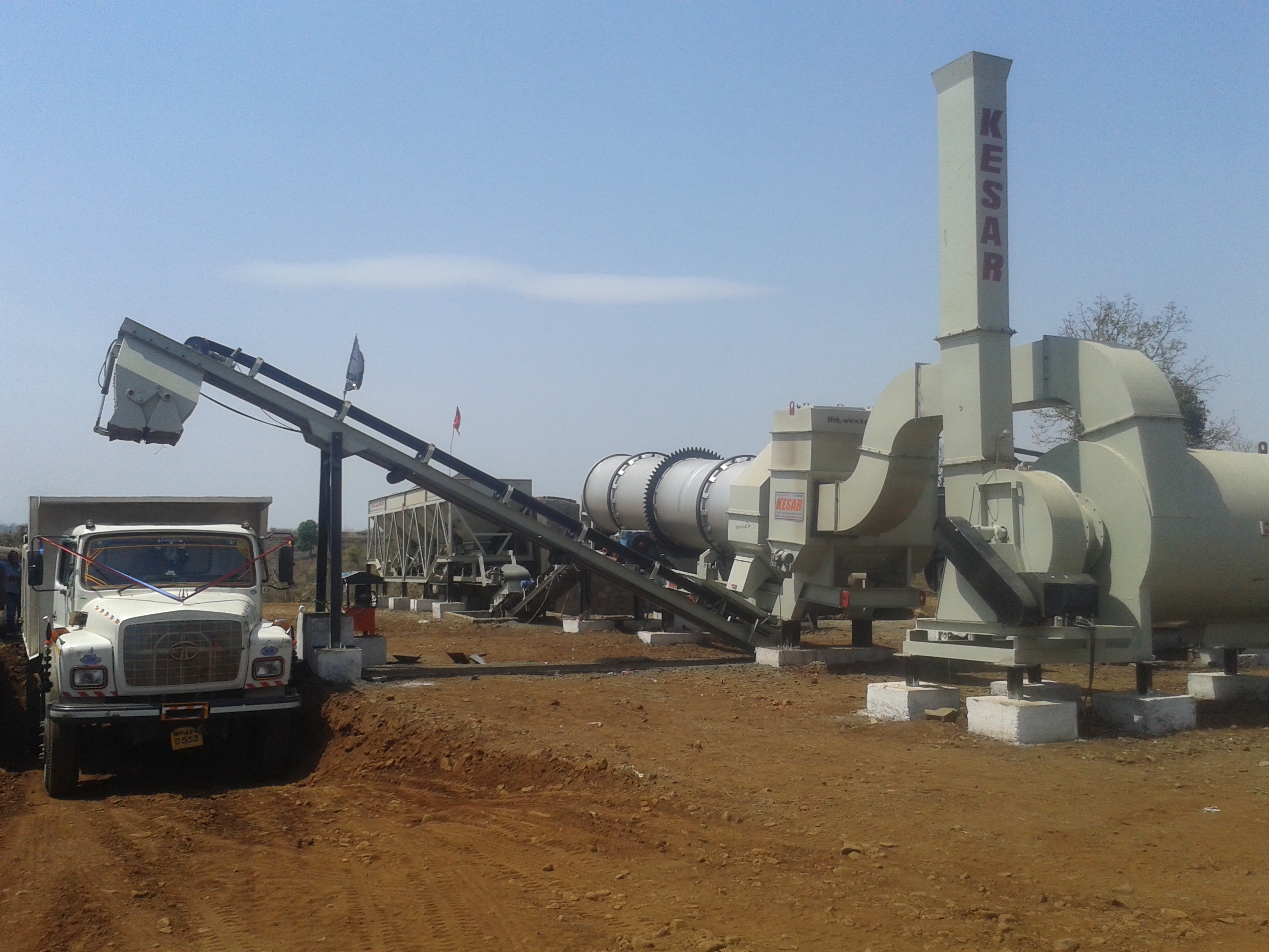Road Building Asphalt Plants