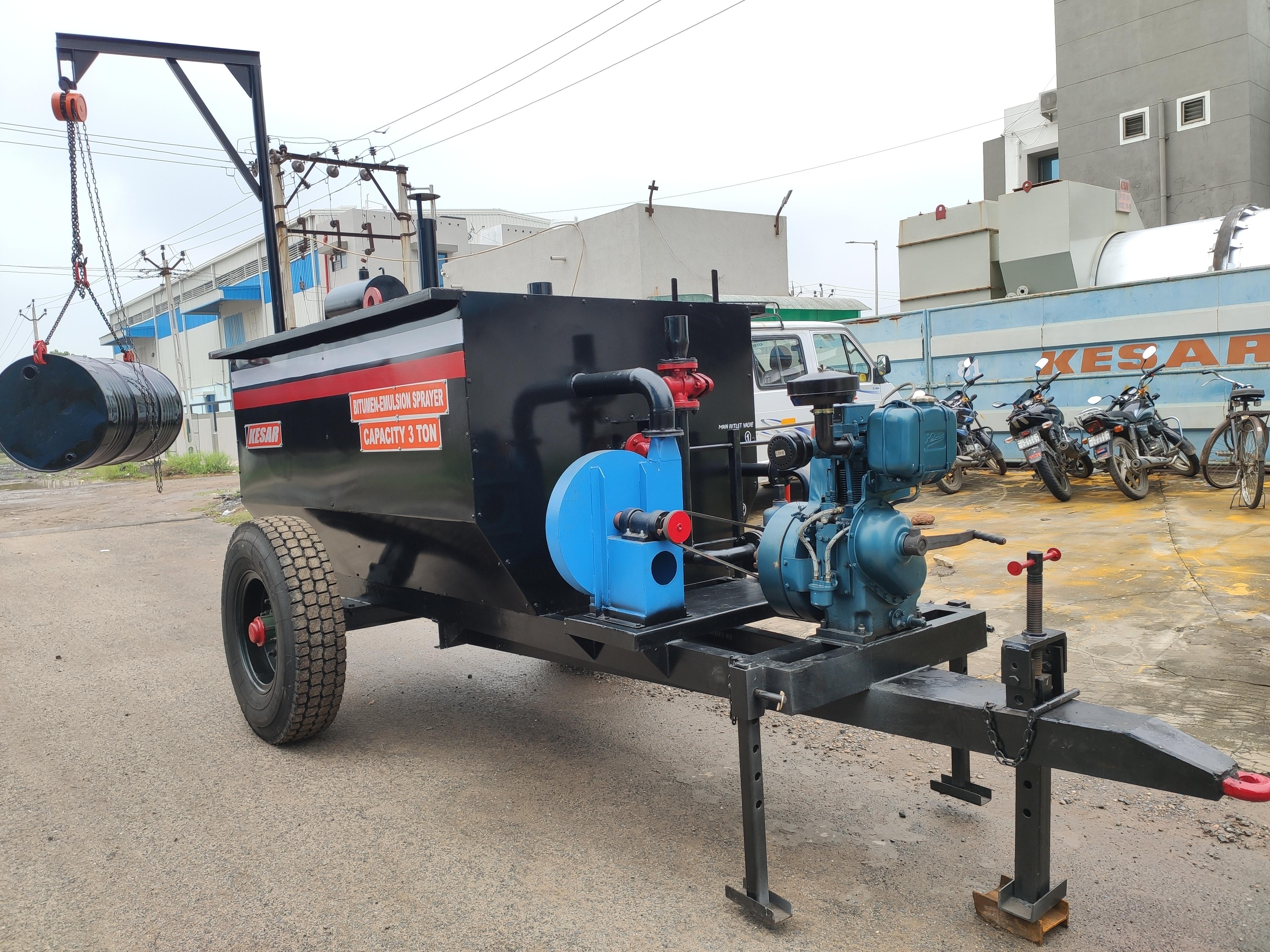Mobile Bitumen Boiler