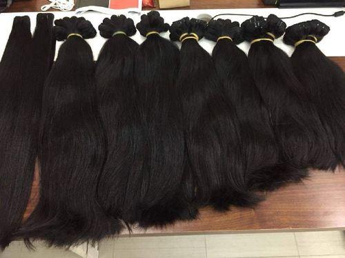 Unprocessed Machine Weft Human Hair