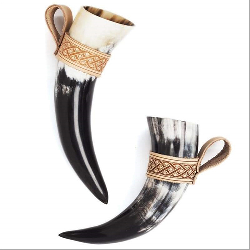 Vintage Drinking Horn