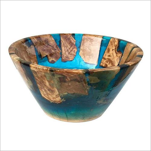 Wooden Resin Bowl