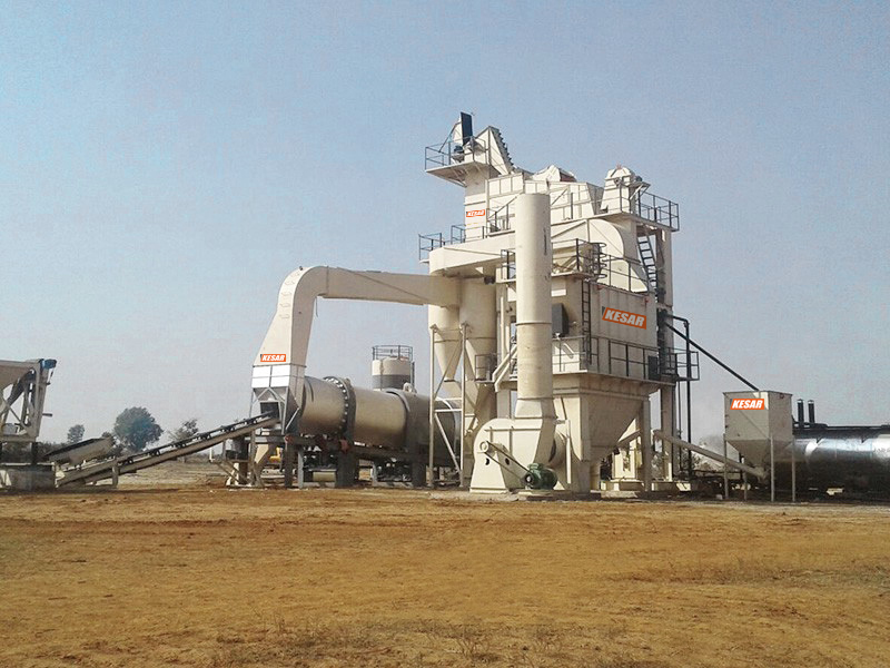 Mobile Asphalt Batch Plant