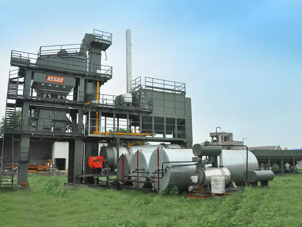 Mobile Asphalt Batch Plant
