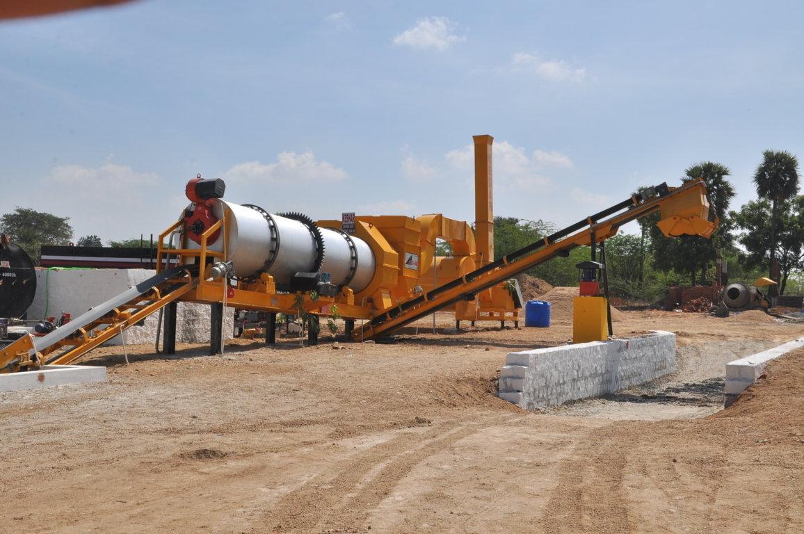 Bitumen Hot Mix Plant