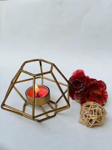 Pentagon Tea-Light Candle Holder