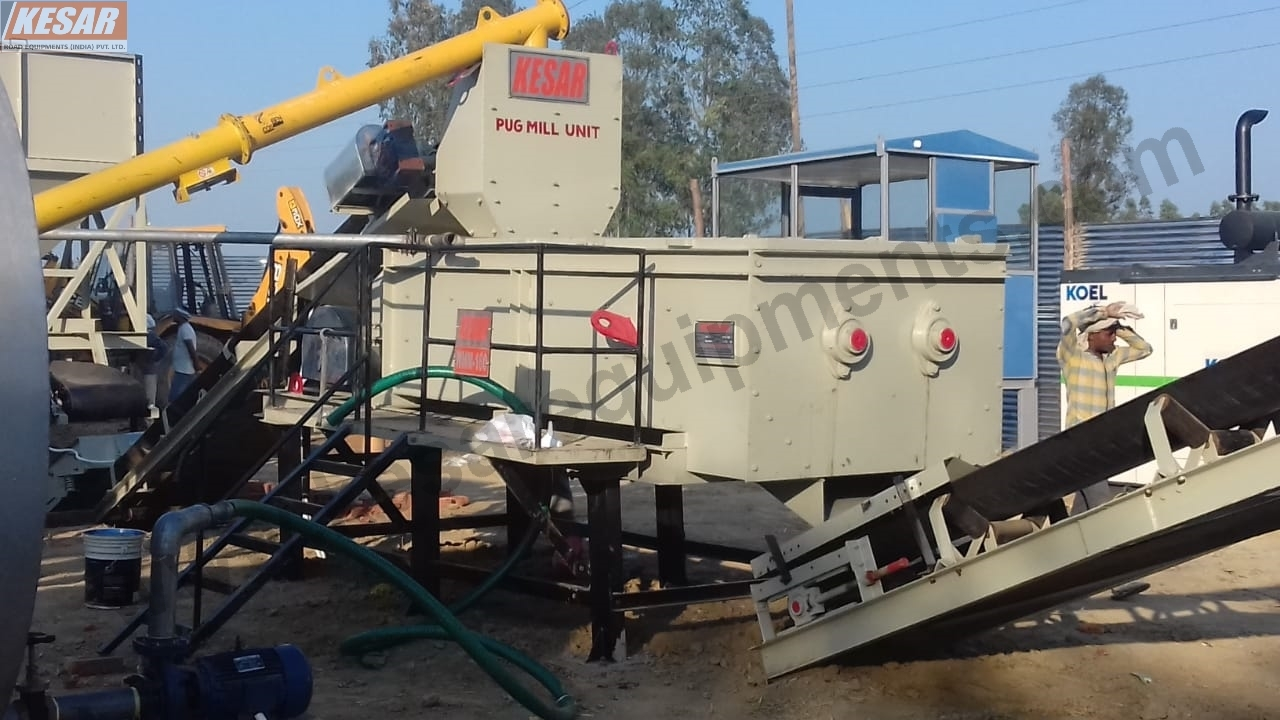 Automatic Wet Mix Macadam Plant