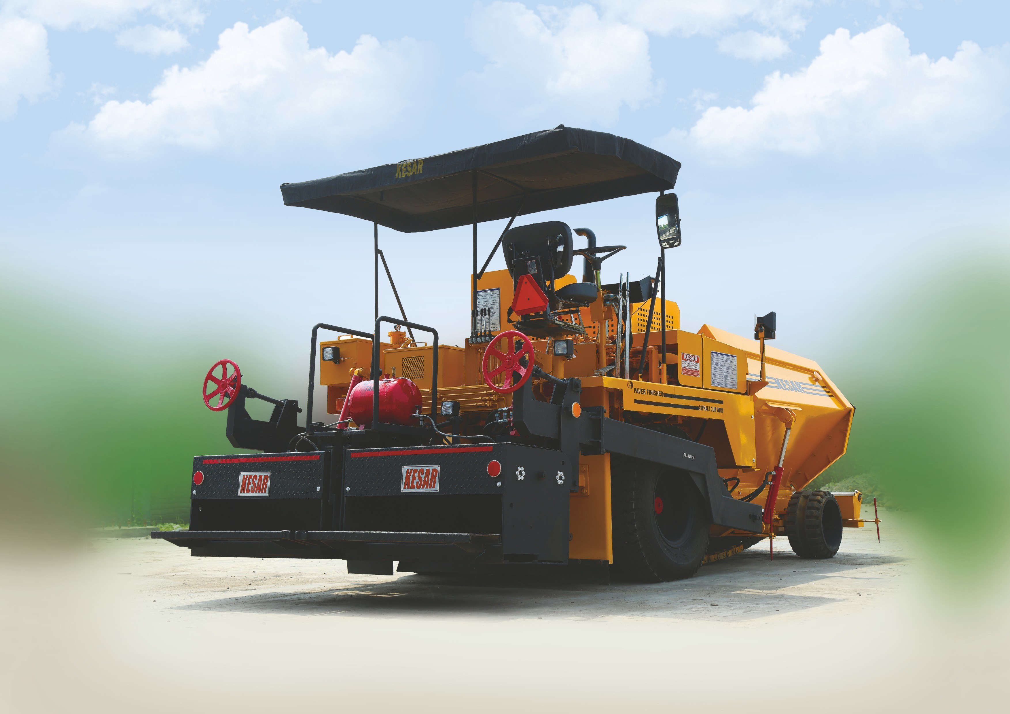 Mechanical Paver Finisher