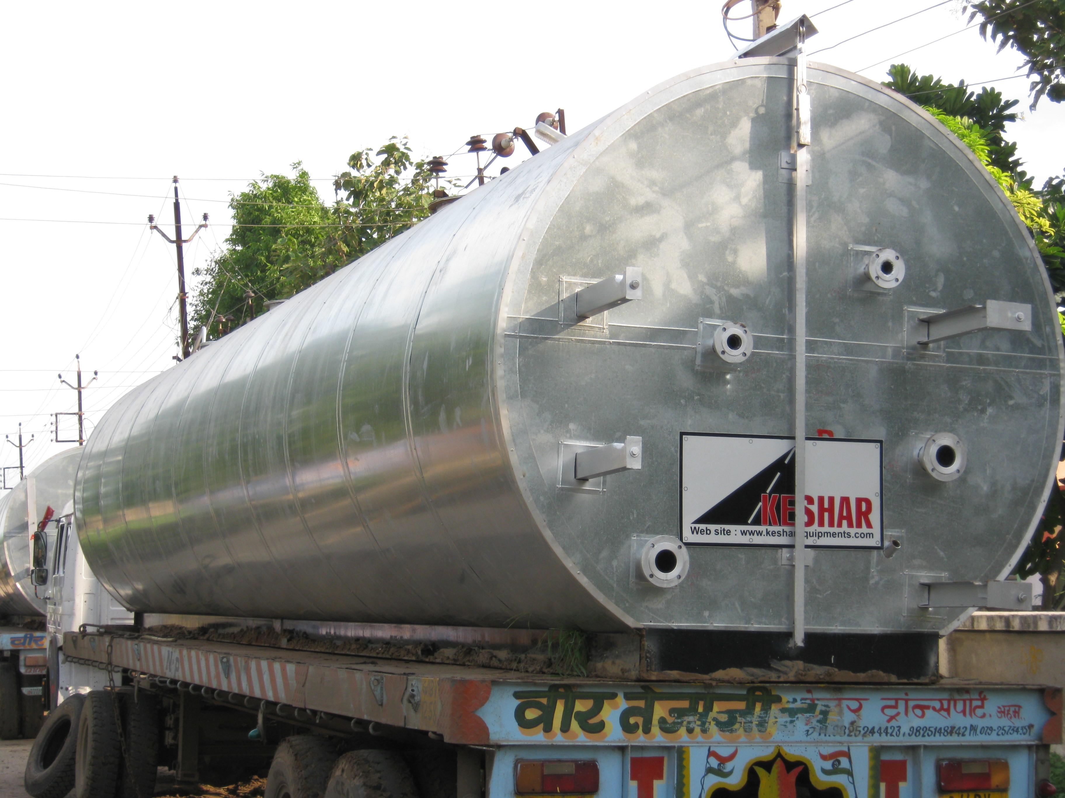 Indirect Heating Bitumen Tanks