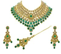 Latest Design Gold Plated Necklace Set For Women