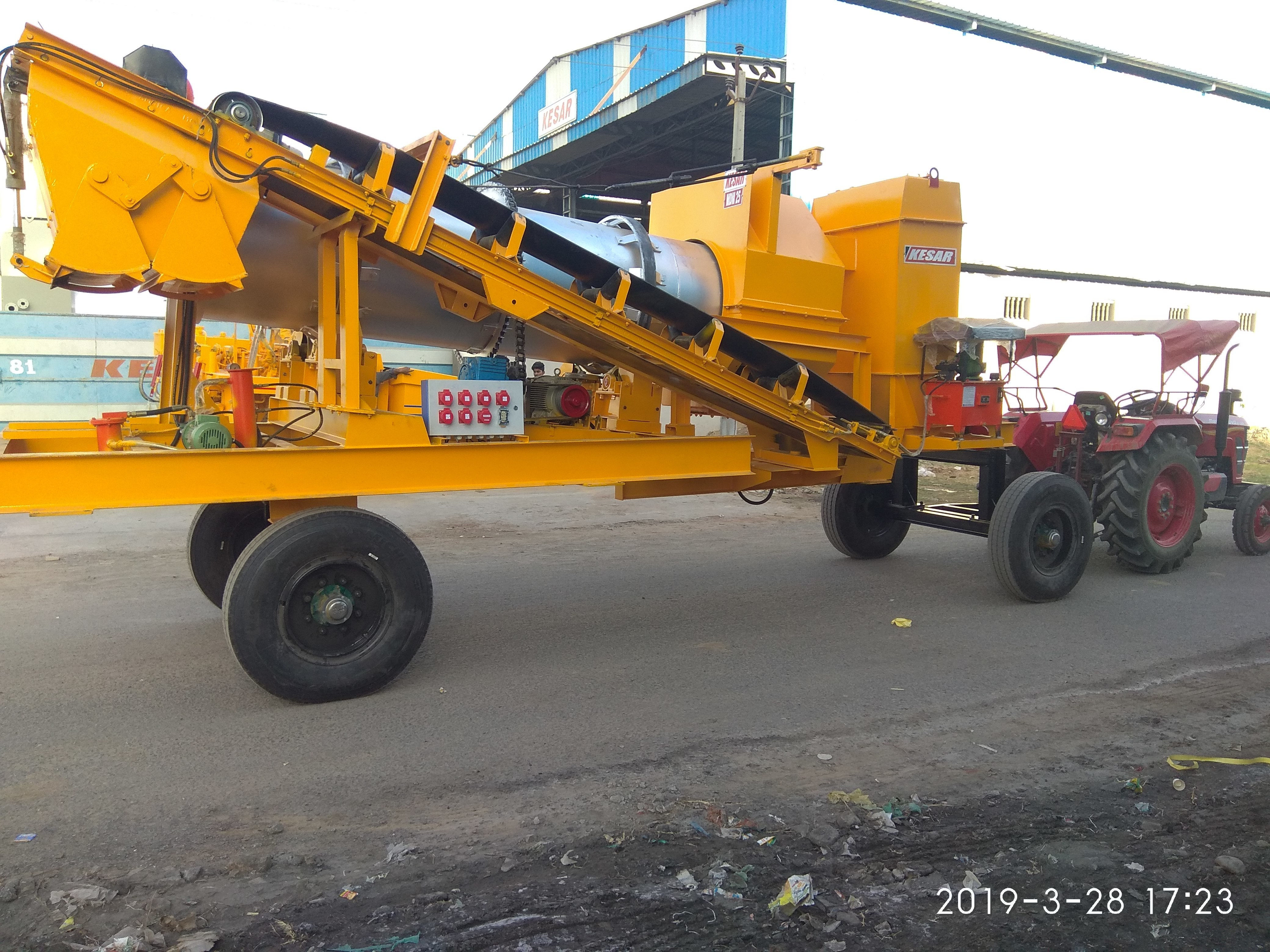 Kesar Mobile Asphalt Plants
