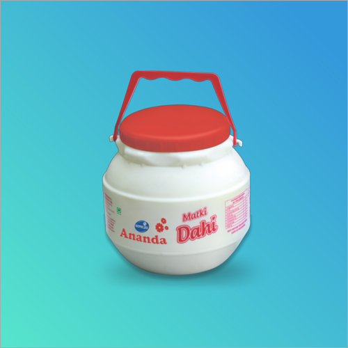 HDPE Dahi Jar Container With Cap Handle