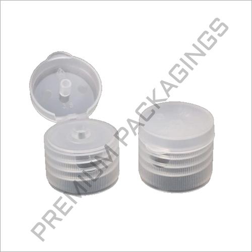 White Plastic Flip Top Caps
