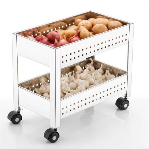 Double Rack Kitchen Basket