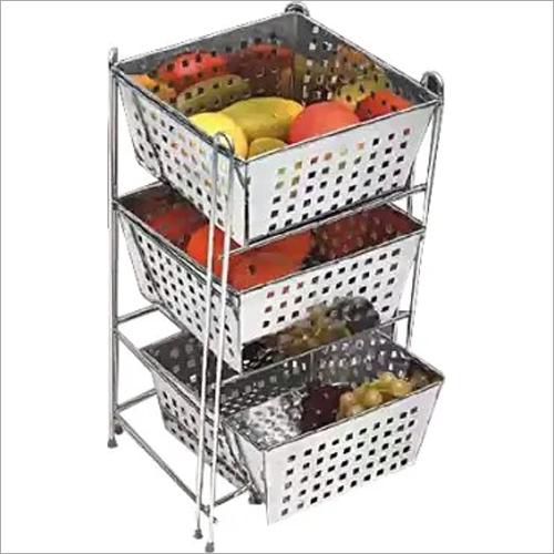 Stainless Steel Partition Kitchen Basket