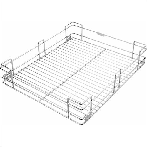Stainless Steel Plain Kitchen Basket