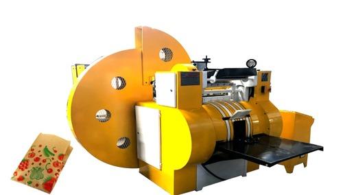 Grocery Paper Bag Making Machine