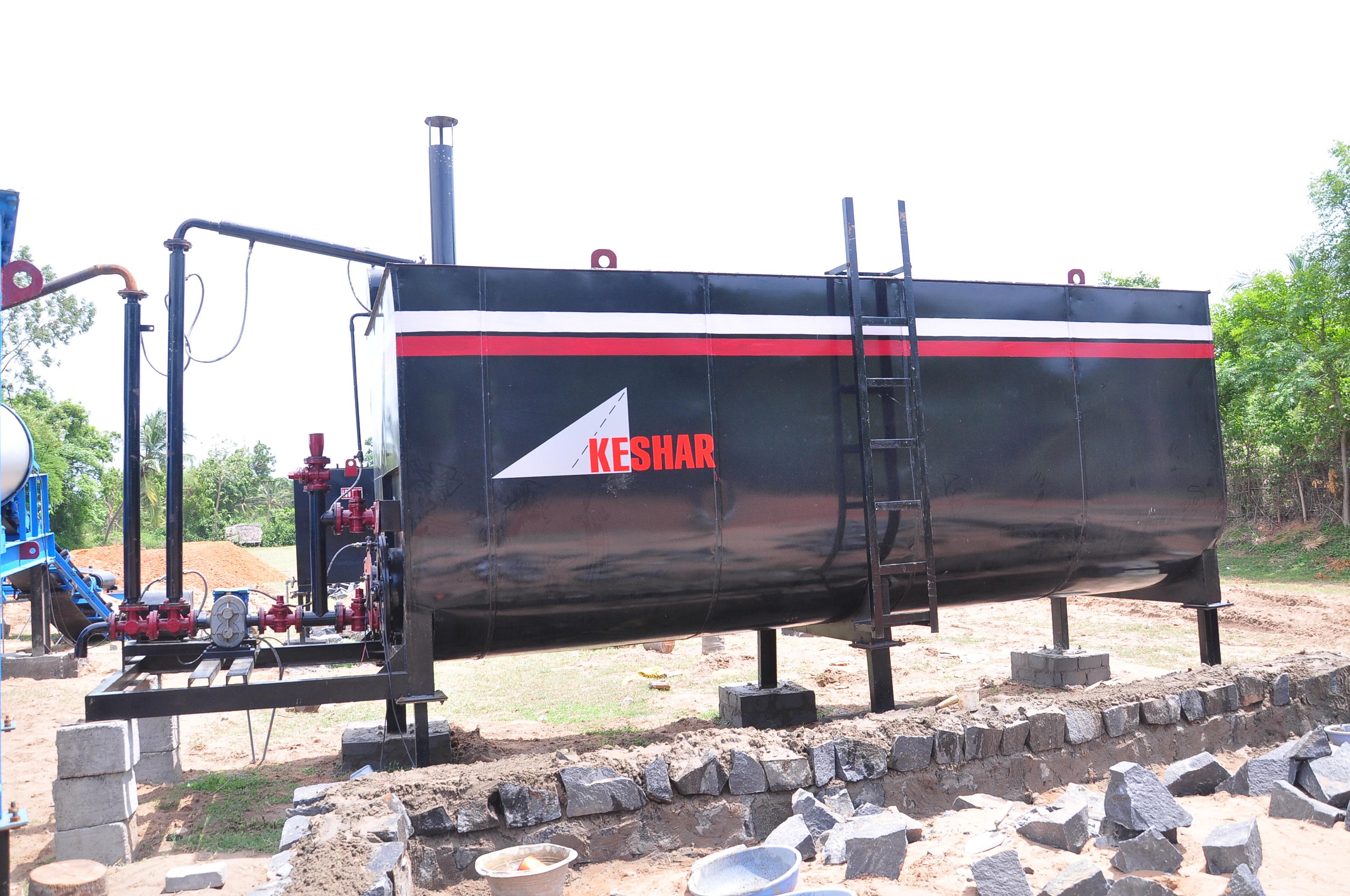 Direct Heating Bitumen Storage Tank