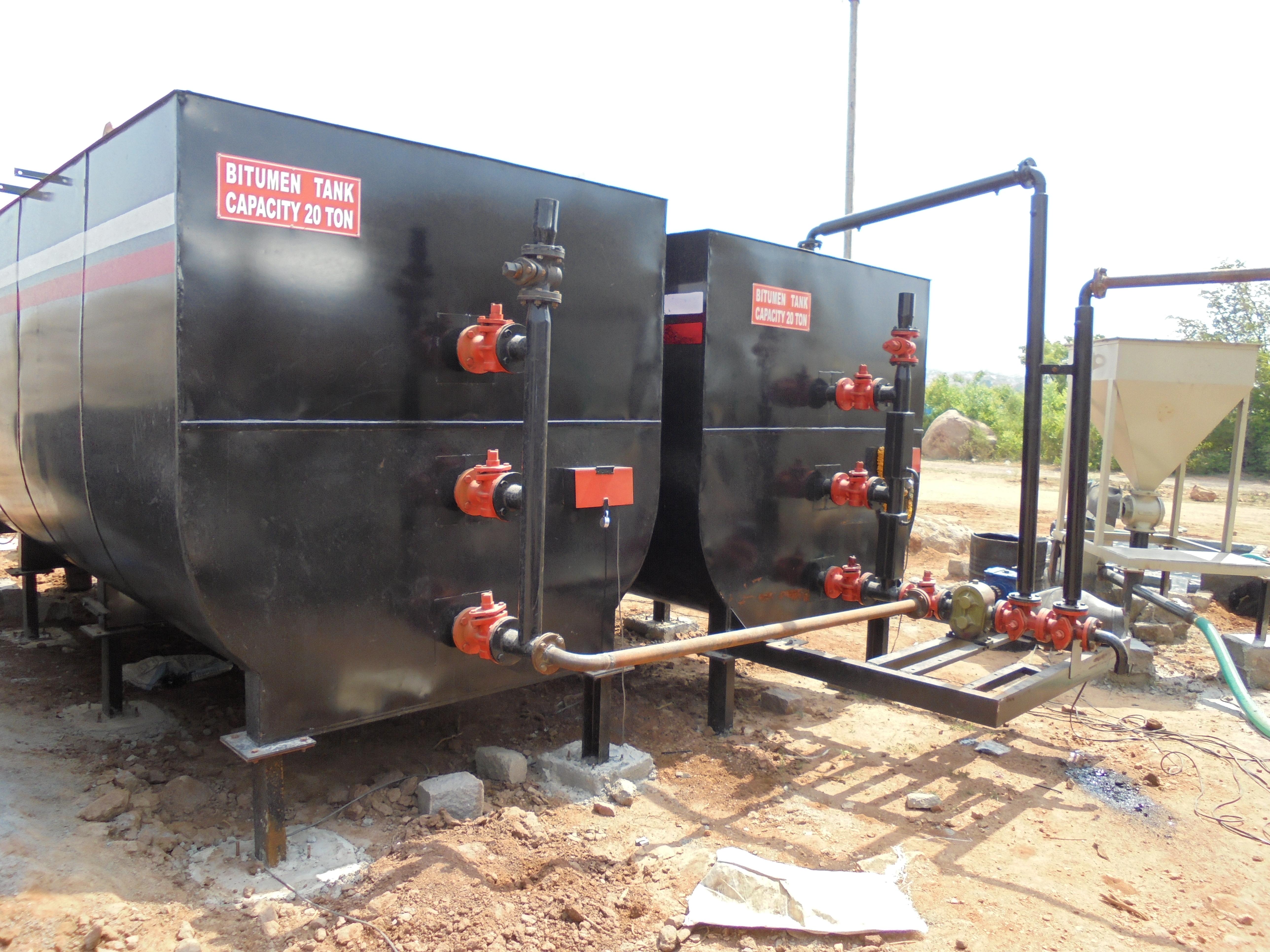 Powder Coated Bitumen Storage Tank