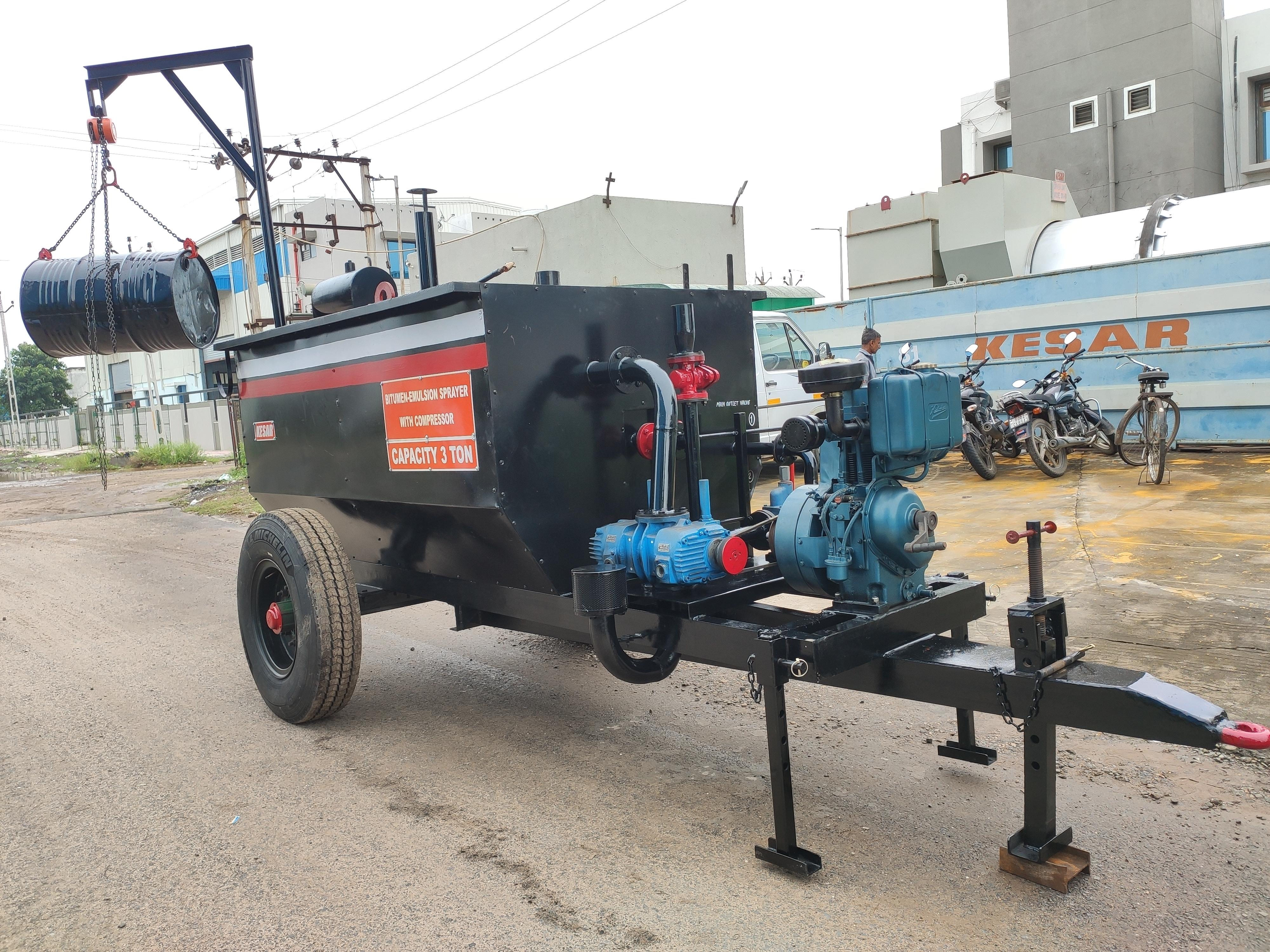 Semi Automatic Bitumen Emulsion Sprayer