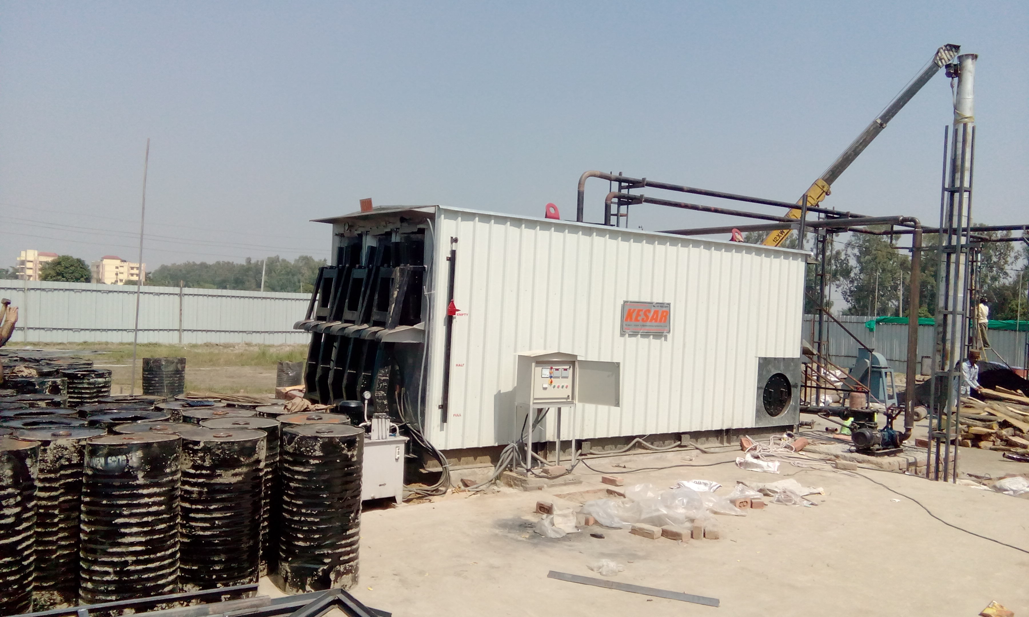 Bitumen Drum Decanters