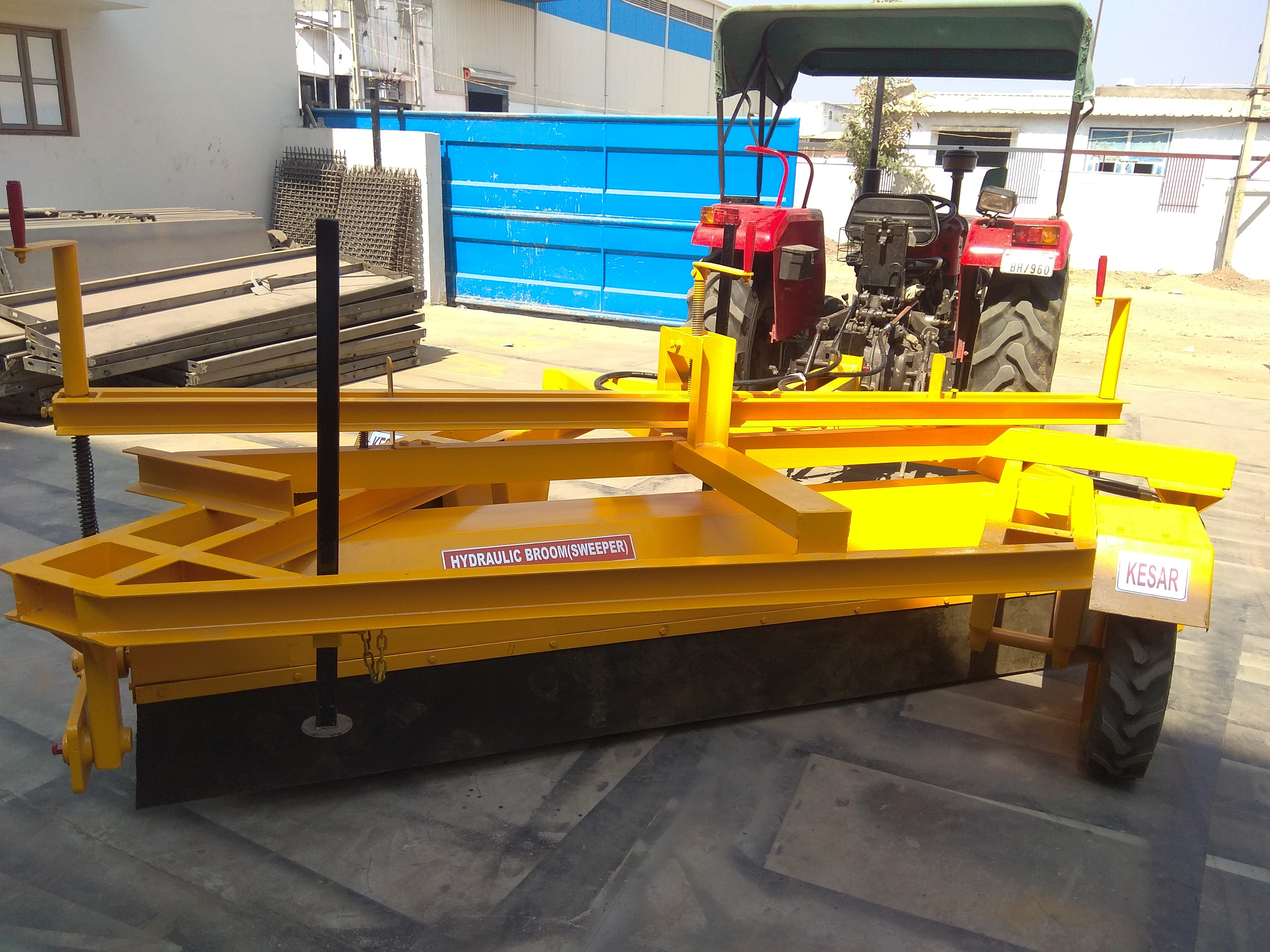 Tractor Mounted Road Sweeping Machine