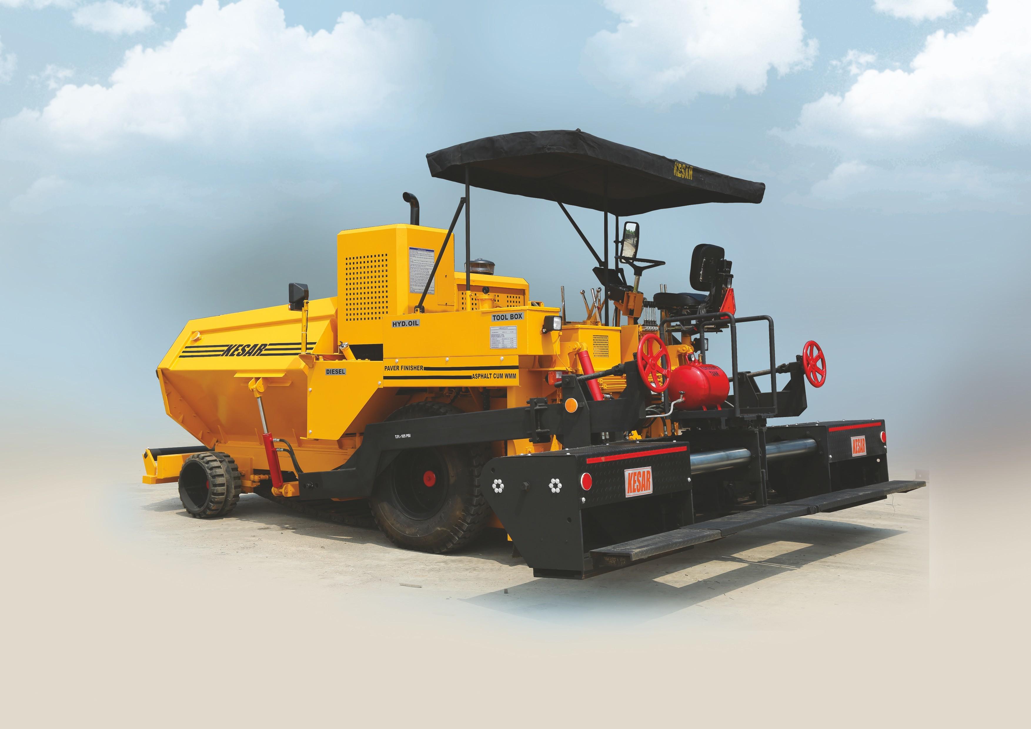 Mechanical Road Paver