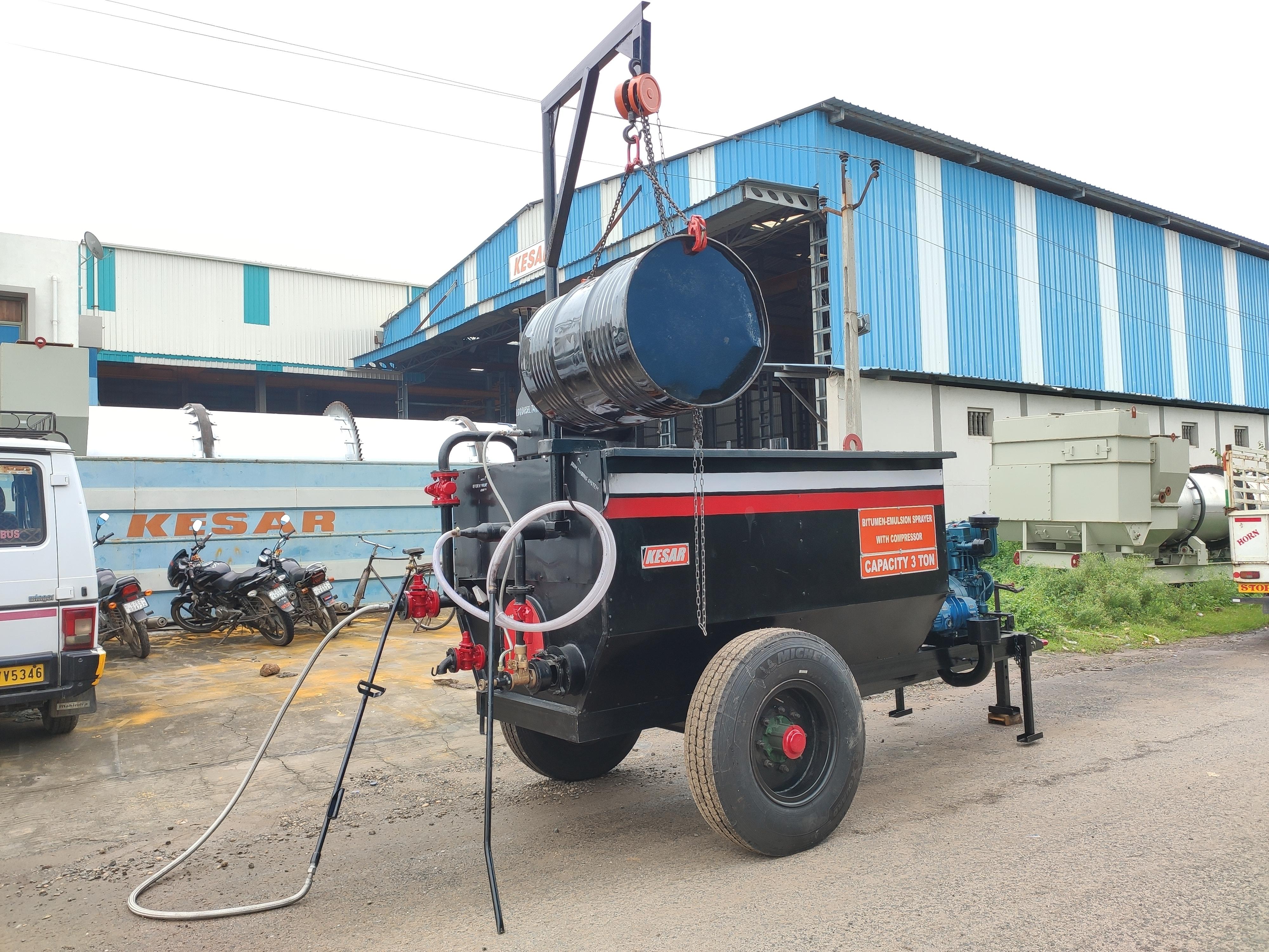 Electric Bitumen Boiler
