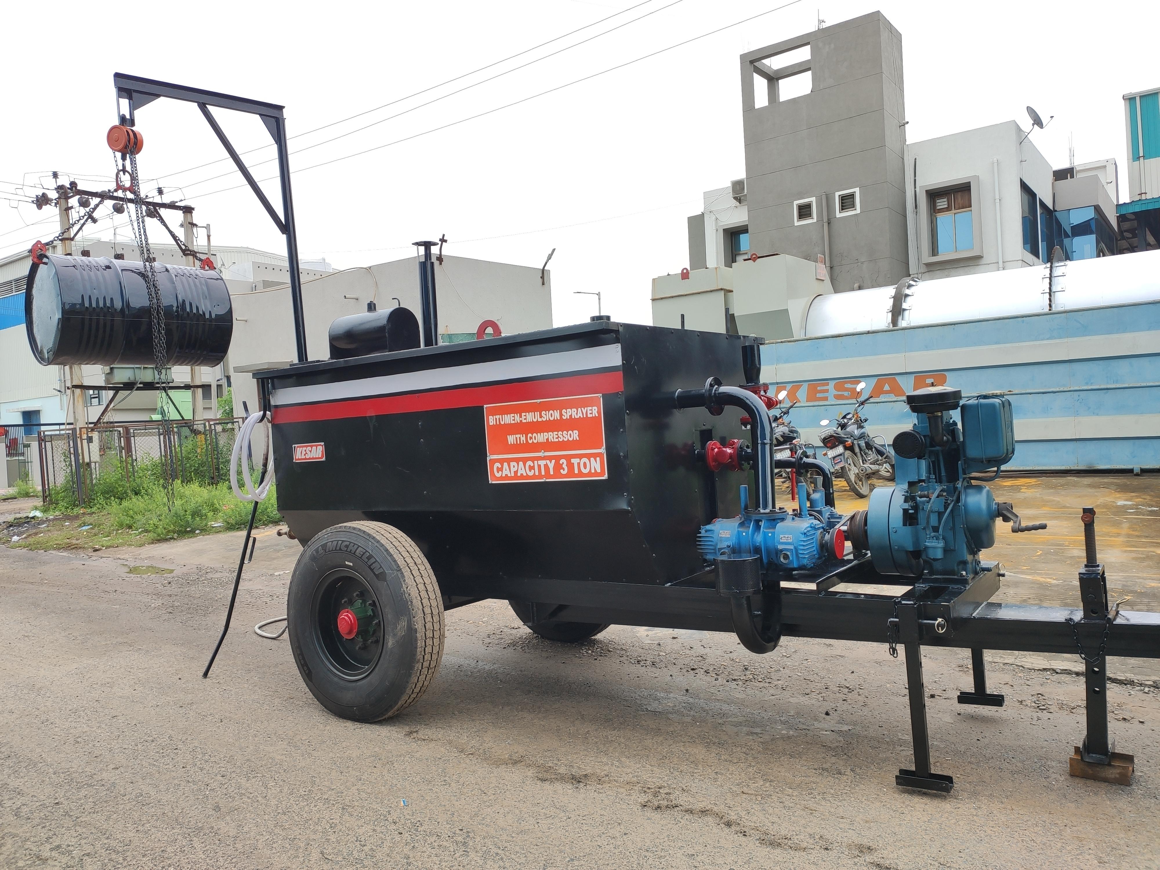 Asphalt Bitumen Boiler