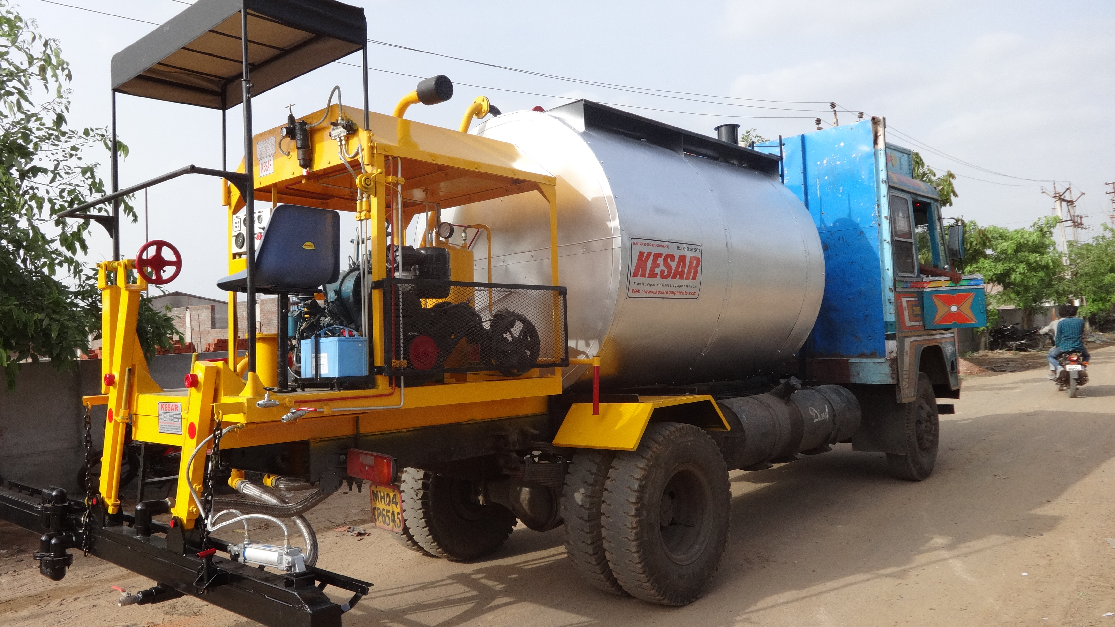 Apollo Bitumen Pressure Distributors