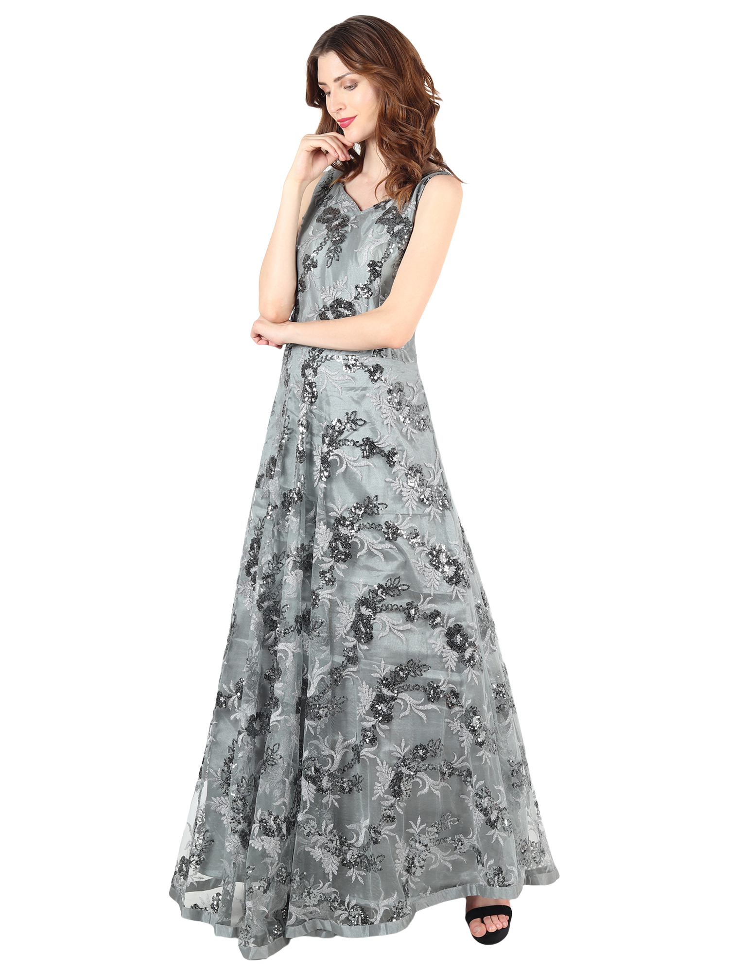 Designer Sequence Gown