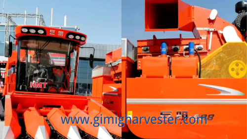 4 Rows Harvester