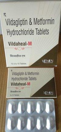 Vildagliptin & Metformin Hydrochloride Tablet