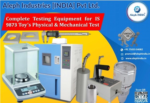 Toy Testing Equipments Laboratory as IS 9873 Part