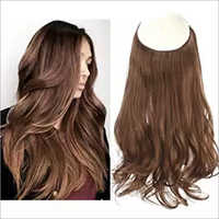 Long Halo Hair Extension