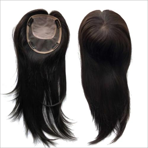 Black Hair Topper