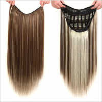 Ladies V-Patch Blonde Extensions