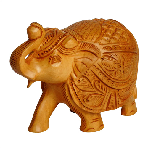 Wood Carving Elephant