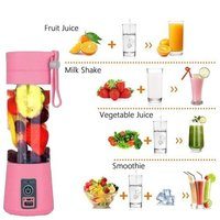 Portable Usb Juicer 4 blade, Capacity: 380 Ml