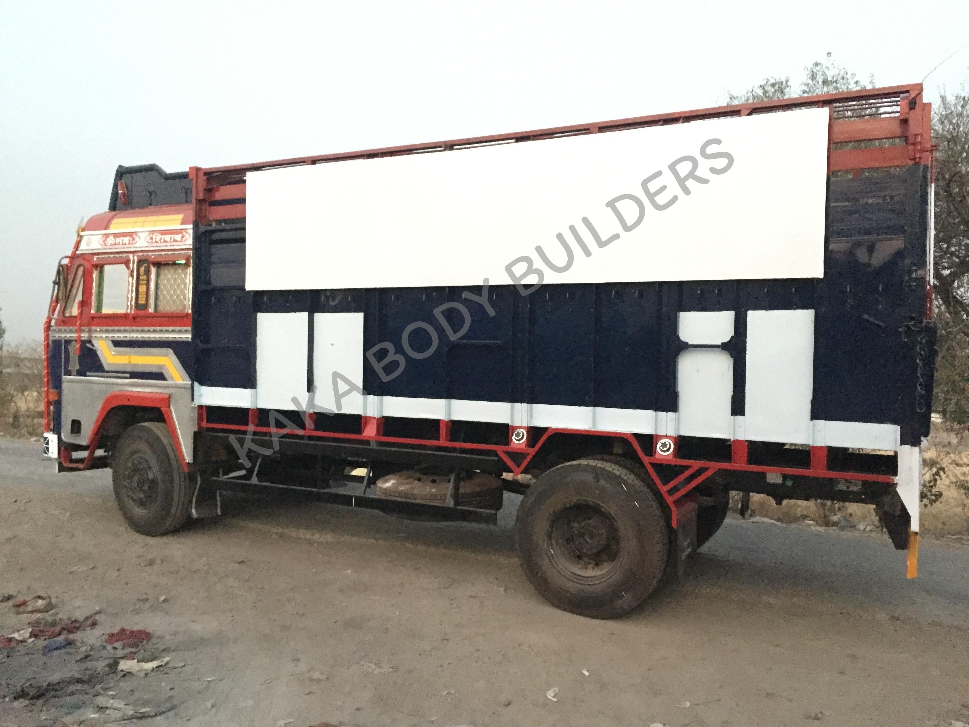 HPCL LPG Cylinder Truck Body