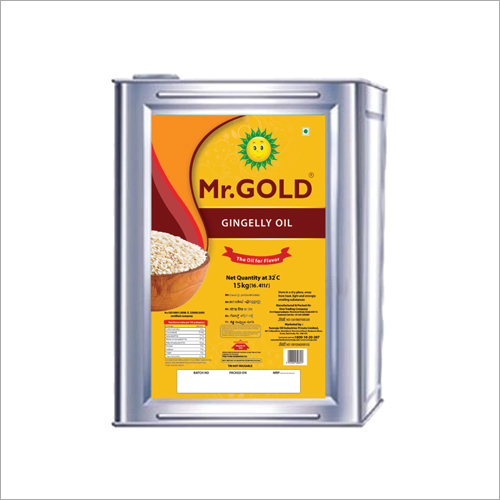 15 KG Gingelly Oil