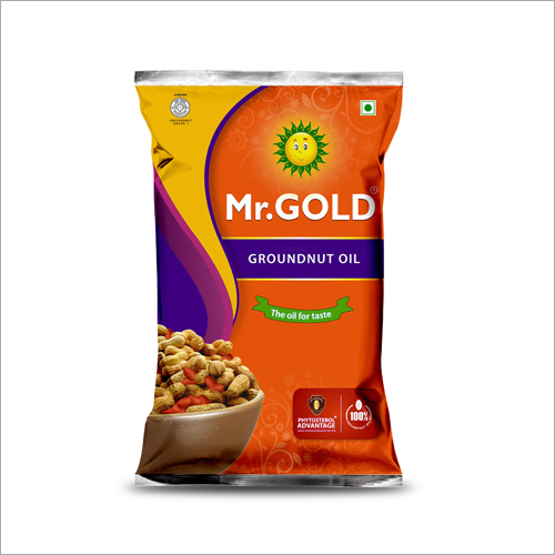 1 Litre Filtered Groundnut Oil Pouch