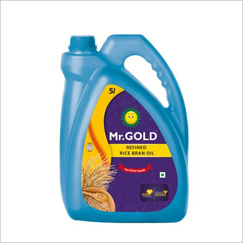 5 Ltr Rice Bran Oil