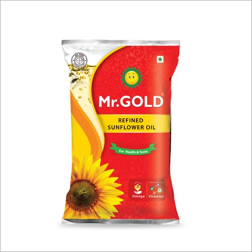 1 Ltr Refined Sunflower Oil Pouch