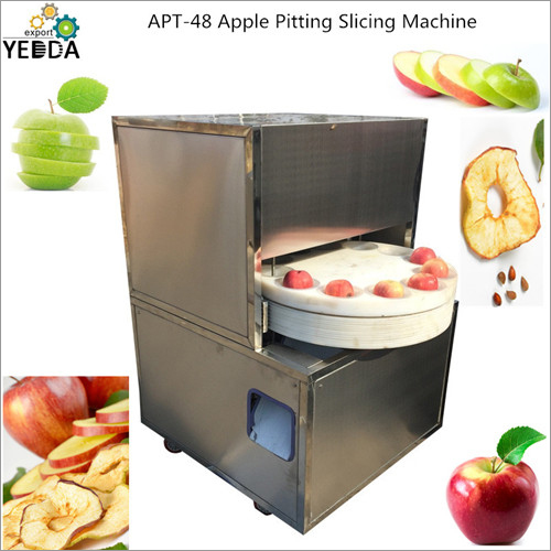 Apple Pitting Slicing Machine