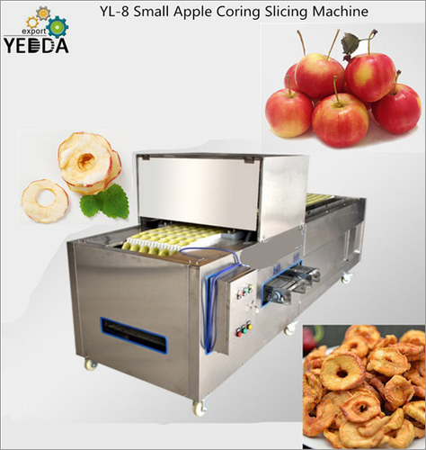 Small Apple Coring Slicing Machine