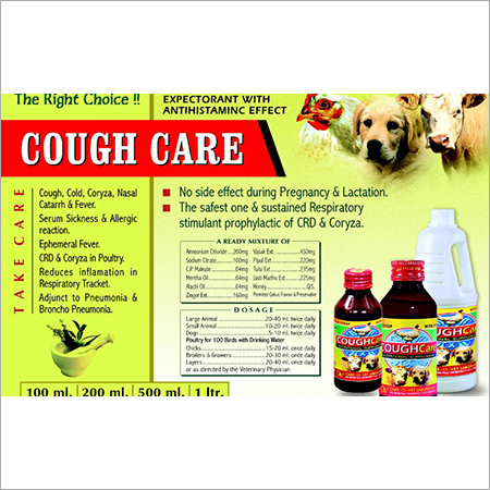 LIQUID COUGH & COLD EXPECTORANT WITH ANTIHISTAMINIC EFFECT