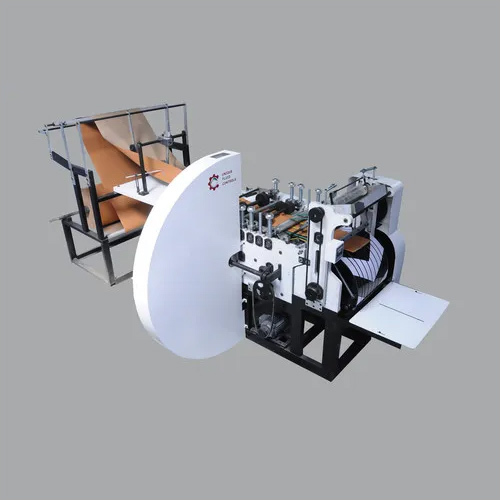 Paper bag making machine without printing